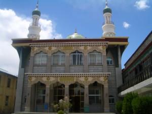 ラサ イスラム寺院 正面