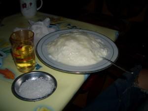 チベット ヨーグルトご飯